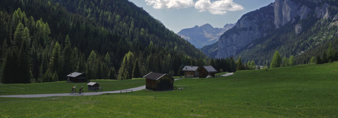 cycling in dolomites by luxa