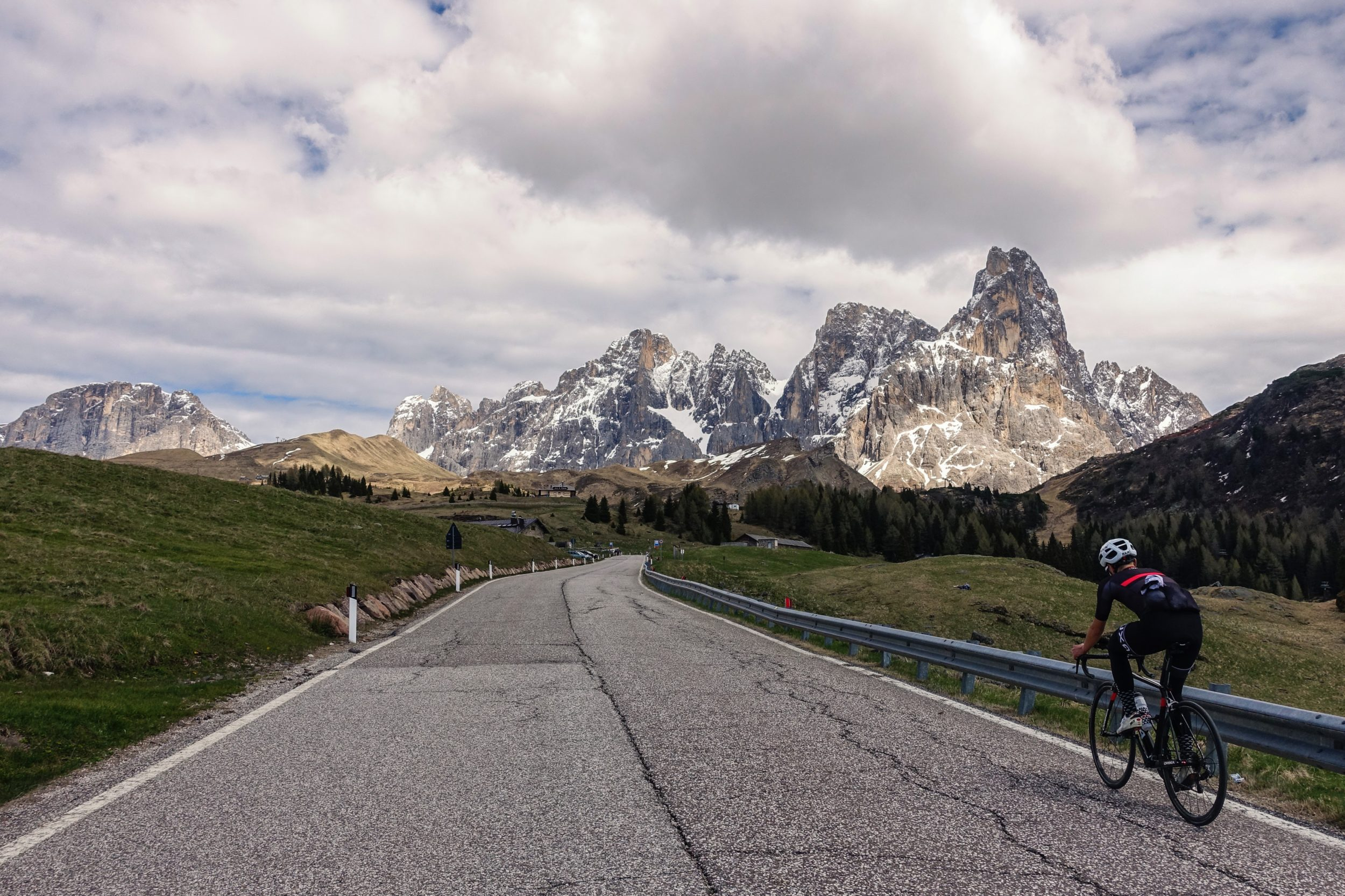 passo rolle ascent