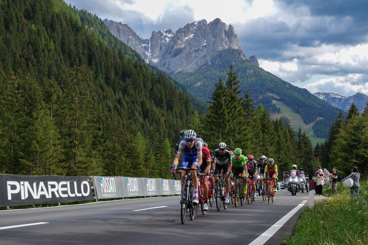giro italia 2017 cycling stage finish in Canazei