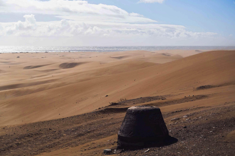 Dunes in Maspalomas - Gran Canaria